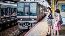 Trains In Japan Desktop Wallpaper