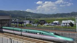 Trains In Japan Desktop Wallpaper HD