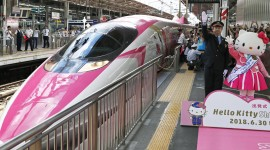 Trains In Japan High Quality Wallpaper