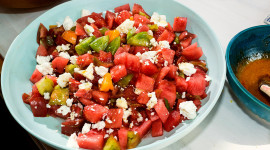 Watermelon Cheese Salad Aircraft Picture