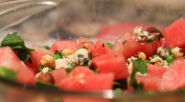 Watermelon Cheese Salad For Desktop