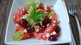 Watermelon Cheese Salad Wallpaper Gallery