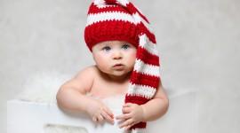4K Baby Hat Photo Free