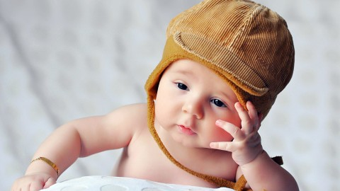4K Baby Hat wallpapers high quality