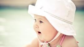 4K Baby Hat Wallpaper Free