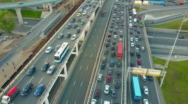 4K City Traffic Jams Desktop Wallpaper