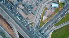 4K City Traffic Jams Photo Download