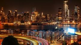 4K City Traffic Jams Photo Free