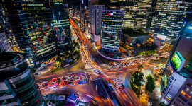 4K City Traffic Jams Picture Download