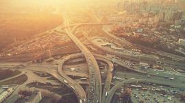 4K City Traffic Jams Wallpaper 1080p