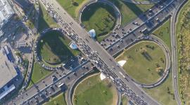 4K City Traffic Jams Wallpaper Free
