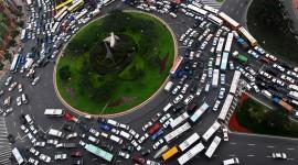 4K City Traffic Jams Wallpaper HQ