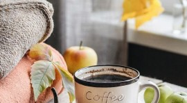 4K Coffee Autumn Wallpaper For IPhone#2
