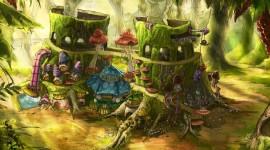 4K Stump Moss Image Download