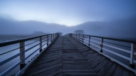 4K Wooden Bridge Image#1