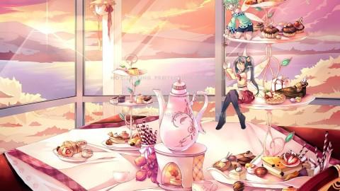 Adorable Food Goddess wallpapers high quality