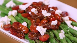 Asparagus Tomatoes Photo