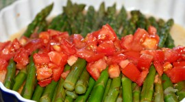 Asparagus Tomatoes Wallpaper Full HD