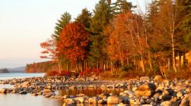 Autumn Sea Wallpaper Free
