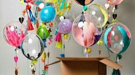 Balloon In A Box Wallpaper