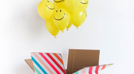 Balloon In A Box Wallpaper For IPhone#2