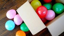 Balloon In A Box Wallpaper HQ