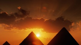 Dawn In Egypt Wallpaper Download Free