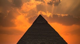 Dawn In Egypt Wallpaper For IPhone 6