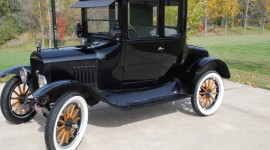 Ford Model T Desktop Wallpaper HD