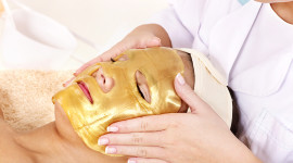 Gold Face Mask High Quality Wallpaper