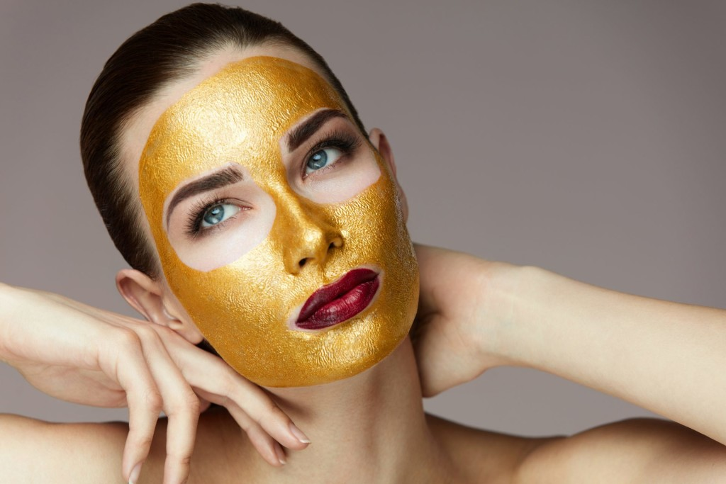 Gold Face Mask wallpapers HD