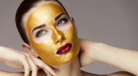 Gold Face Mask Wallpaper Gallery