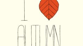 I Love Autumn Picture Download