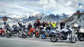 Motorbike Travel Wallpaper Background