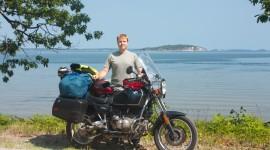 Motorbike Travel Wallpaper Free
