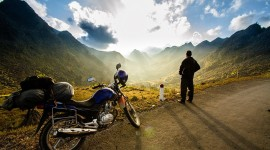 Motorbike Travel Wallpaper HD