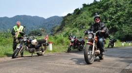 Motorbike Travel Wallpaper High Definition