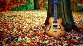 Music Of Autumn Desktop Wallpaper