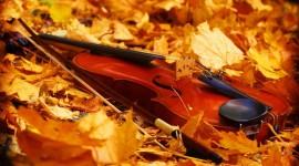 Music Of Autumn Wallpaper For Desktop