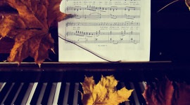 Music Of Autumn Wallpaper For PC