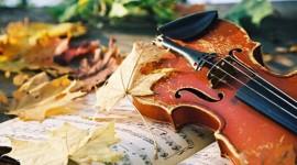 Music Of Autumn Wallpaper Free