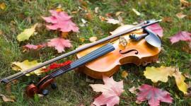 Music Of Autumn Wallpaper Full HD