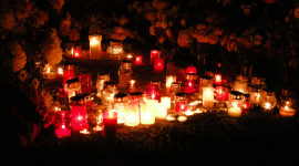 Night Candles Photo
