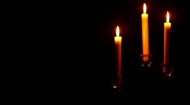 Night Candles Photo Download