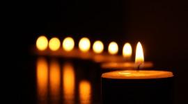 Night Candles Photo Free