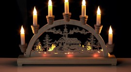 Night Candles Wallpaper