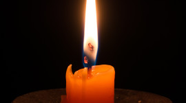 Night Candles Wallpaper For IPhone