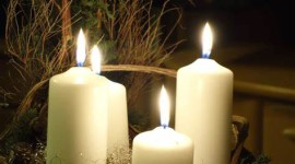 Night Candles Wallpaper For Mobile