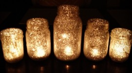 Night Candles Wallpaper For PC