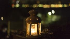 Night Candles Wallpaper Free